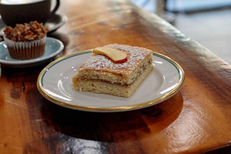 Sweet homemade pastries at Peaky Barista